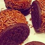 Receita de Oreo com brigadeiro de chocolate