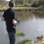Como um macho pesca