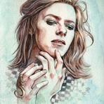 Pintura - Ilustradora cria gif dos penteados diferentes de David Bowie