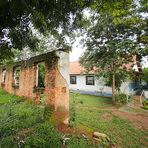 Isolamento de moradores do antigo leprosário.