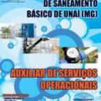 Apostila Saneamento de Unaí 2015 - Auxiliar de Serviços Operacionais[CD Grátis]