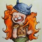 Pintura - Lif, a Viking