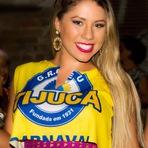 Débora Soares, que participou da sexta edição do Reality Show da Multishow, Casa Bonita se preparando para Carnaval do R