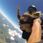 Turismo - Meu primeiro salto de paraquedas, em São Paulo
