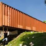 Escritório-container: o luxo no simples