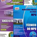 Apostila MPU Grátis Cd ROM Concurso Público para Analista e de Técnico do Ministério Público da União - COMPLETA