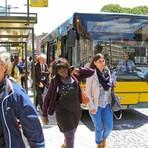 Portugal - Multas entre 50 a 250 euros para quem apoiar pés nos estofos ou perturbar outros passageiros nos autocarros