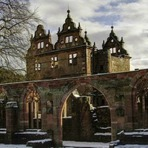 Mosteiro do século 15, na Floresta Negra, na Alemanha