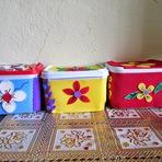 Hobbies - Faça uma caixa multi uso com potes de sorvetes reciclados!