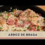 """Culinária - """"Arroz de Braga""""; por Gisele Souza"""