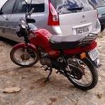 """Operação """"Concórdia"""" encontra moto abandonada em matagal"""