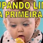 Vídeos - Bebês chupando limão pela primeira vez (engraçadíssimo)