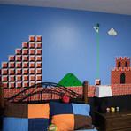 """um quarto """"Super Mario Bros"""""""