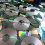 Entregar cd e dvd : para reciclar , já pode!!!!!!