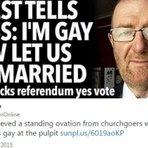 Religião - Padre irlandês defende casamento homossexual, se declara gay durante missa e fiéis o aplaudem de pé