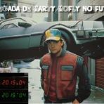 A chegada de Marty Mcfly no futuro (21 de Outubro de 2015)