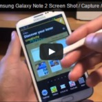 "Como tomar Samsung Galaxy Note 2 Screen Shot / Captura / Print Screen...""How to take Samsung Galaxy Note 2 Screen Shot /"