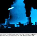 OVNIs são avistados sobrevoando usinas nucleares na França e Bélgica.