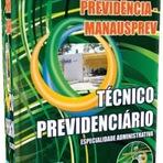 Apostila Concursos Manaus PREV Previdência - Técnico Previdenciário