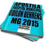 APOSTILA HOB MG 2015 22,99 TÉCNICO EM ENFERMAGEM