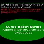 Curso de Batch Script - Agendando comandos