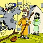 Mistérios - Pedro e Joao na Hora da Oração