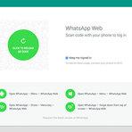 WhatsApp Web está disponível a partir de hoje!