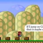 Veja Mario a tomar as suas próprias decisões dentro do jogo