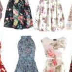Vestidos curtos florais