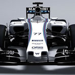 F1: Williams divulga carro para 2015 com novo bico.