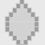 Outros - Tapete de Crochê com Fial Multicor