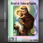 Documentário - Brasil de todos os santos 2 DVDs