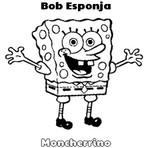 Desenhos Colorir Bob Esponja Personagens