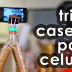Aprenda como fazer tripé caseiro para celular
