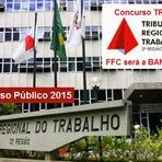 Saiu o edital do Concurso Público TRT3 para Técnico e Analista judiciários - 2015