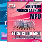 Apostila TÉCNICO DO MPU 2015 - Concurso Ministério Público da União