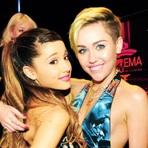 Miley Cyrus Não Acredita que Possa Vencer Ariana Grande na Disputa do Grammy 2015