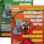 Apostila para o concurso do Departamento Penitenciário Nacional DEPEN  Cargo - Agente Penitenciário Federal (jogo Comple