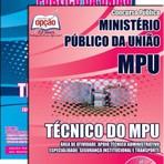 Apostila para o concurso do Ministério Público da União MPU Cargo - Técnico Do Mpu