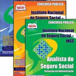 Apostila para o concurso do Instituto Nacional do Seguro Social INSS Cargo - Completa Para Formação Em Administração