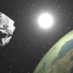 Assistam neste vídeo ao vivo a passagem do asteroide nesta segunda 26