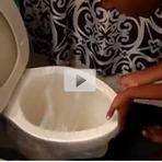 Aprenda como desentupir um vaso sanitário em 5 s