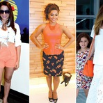 Moda & Beleza - Laranja faz sucesso no verão e conquista as famosas