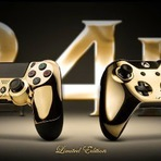 PS4 e Xbox One ganham controles banhados em ouro 24K