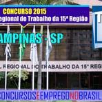 Apostila Concurso Tribunal Regional do Trabalho da 15ª Região 2015