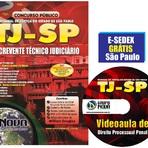 Apostila Impressa TJ - SP 2015 - Escrevente Técnico Judiciário [FRETE GRÁTIS]