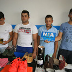 Polícia prende assaltantes que furtaram uma loja próximo ao Banco do Brasil, em Caruaru.
