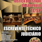 Apostila ESCREVENTE TÉCNICO JUDICIÁRIO 2015 - Concurso Tribunal de Justiça do Estado / SP