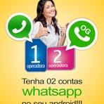 Duas contas de WhatsApp no seu Android