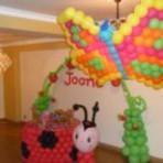 Decoração para festa infantil com balões